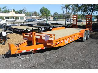 Equipment Trailer with Beavertail