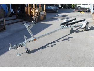 Watercraft Trailer with Galvanized Frame