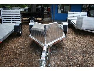 2013 Aluma All Aluminum Open S/A Motorcycle Trailer