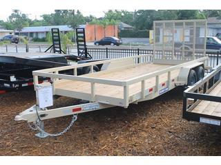 Utility Trailer with Heavy Duty Gate