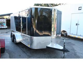 Cargo Mate Enclosed Motorcycle Trailer