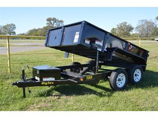 Big Tex 6x10 Tandem Axle Hydraulic Dump Trailer
