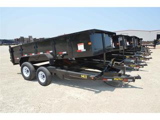 Big Tex 7x16 Tandem Axle Dump Trailer