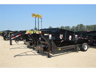 Big Tex 7x14 gooseneck hydraulic dump trailer