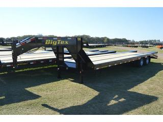 Big Tex 8.5x35 Tandem Axle Gooseneck Equipment Trailer