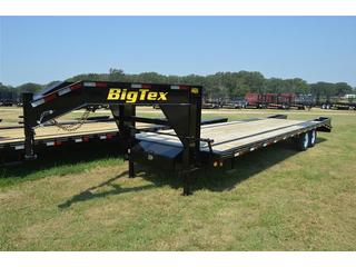 Big Tex 8.5x20 Tandem Axle Gooseneck Equipment Trailer