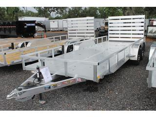 Open Trailer with Aluminum Deck