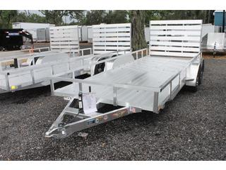 "Aluminum Trailer with 14"" Rail"