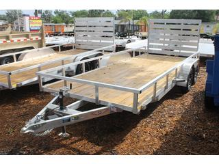 Aluminum Trailer with Aluminum Wheels