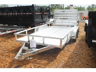 Aluminum Trailer with Top Rail