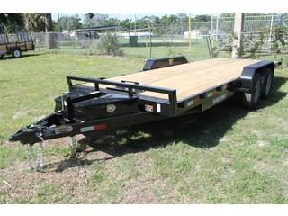 Car Hauler with Tilt Bed
