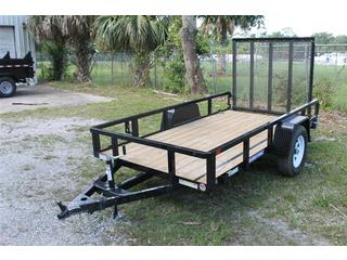 Utility Trailer with Set Back Jack