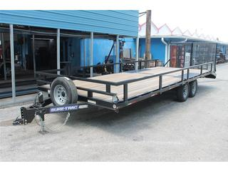 Deck Over Trailer with Beavertail