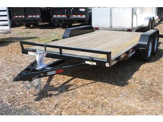 Car Hauler with Wood Deck