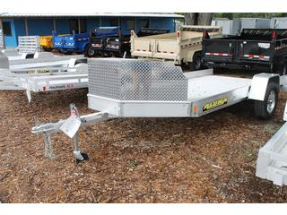 Aluminum Trailer with Solid Sides