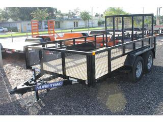 Utility Trailer with Mesh Sides