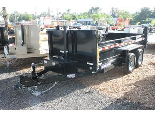 Dump Trailer with Tarp Assembly