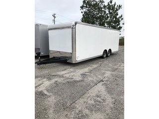 Car Hauler with Cabinets