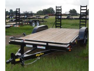 "Big Tex 7x16"" Tandem Axle Equipment Trailer"
