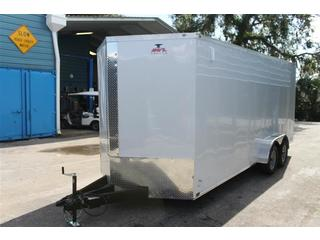Cargo Trailer with Side Air Vents