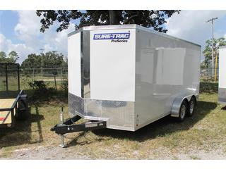 Cargo Trailer with Scoop Vents