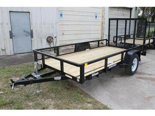 Utility Trailer with Pressure Treated Deck