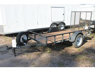 Utility Trailer with Ramp Gate