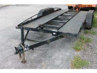 Car Hauler with Open Deck