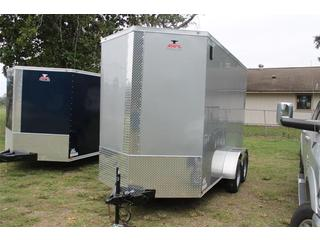 Cargo Trailer with Extra Height