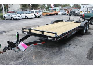 Equipment Trailer with Ramps