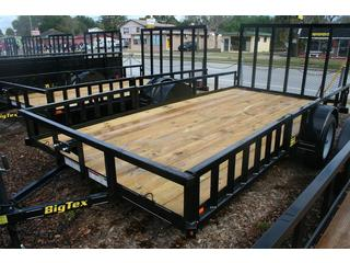 Big Tex - Single Axle Utility Trailer - 35SA-14BKRSX B/T