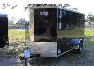 Cargo Trailer with Side Vents
