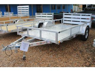 Utility Trailer with Aluminum Deck