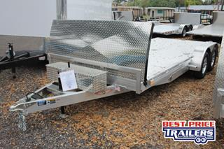 Car Hauler with Aluminum Deck