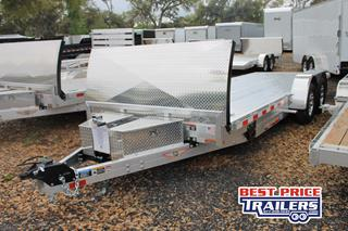 Car Trailer with Tilt Bed