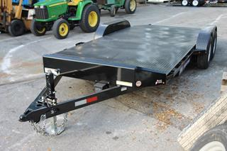 Sure Trac Car Hauler with Spare Tire Mount