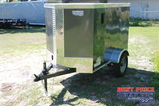 Cargo Trailer with Air Vents