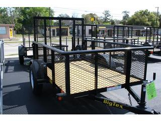 Big Tex - Single Axle Utility Trailer - 30SA-8BK