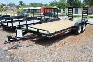 Sure Trac Equipment Trailer with Beavertail