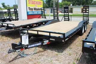 Sure Trac Equipment Trailer with Drive Over Fenders