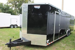 Car Hauler with Dual Side Doors
