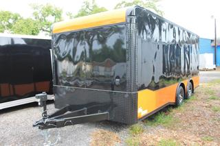 Motorcycle Trailer with Awning