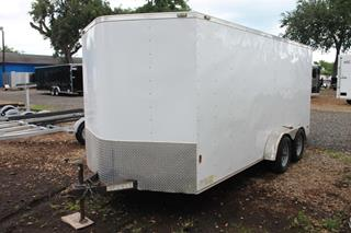 Used Cargo Trailer with E-Track