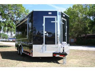 Concession Trailer -  Cargo Mate - 5 Concession doors