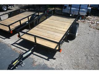 Utility Trailer - Bigtex - Ramp Gate - Black