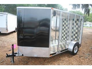 Clear Trailer - V-Nose - Lexan - Steel Trailer