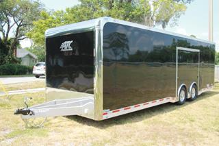 ATC Car Hauler with Escape Door