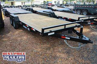 Sure Trac Car Hauler with Slide In Ramps