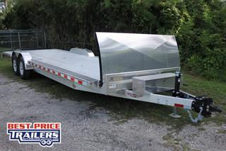 Equipment Trailer with Toolbox