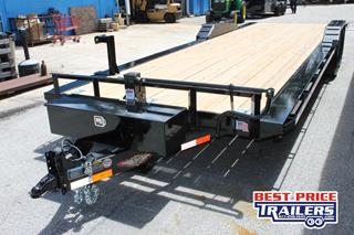 Equipment Trailer with Slide in Ramps